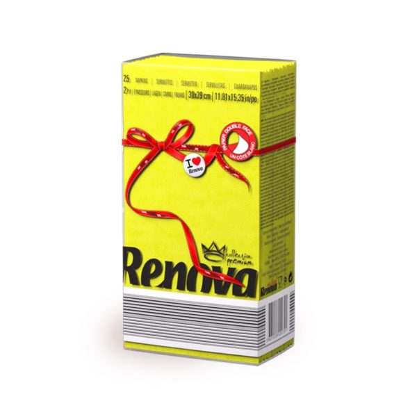 Renova-Red-Labej-paper-napkins-Yellow