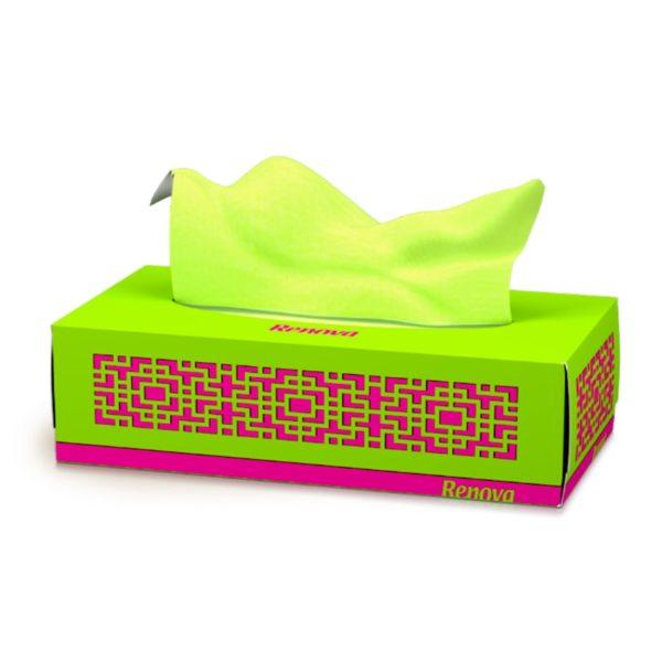 Renova-facial-tissues-in-box-Green