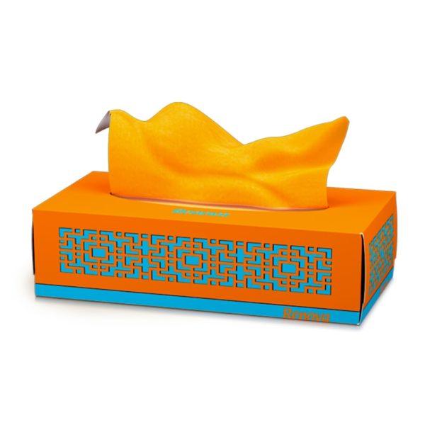 Renova-facial-tissues-in-box-Orange