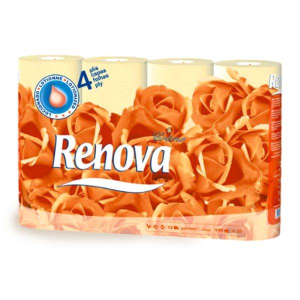 tualetnaya-bumaga-Renova- Deco-4-ply-Creme