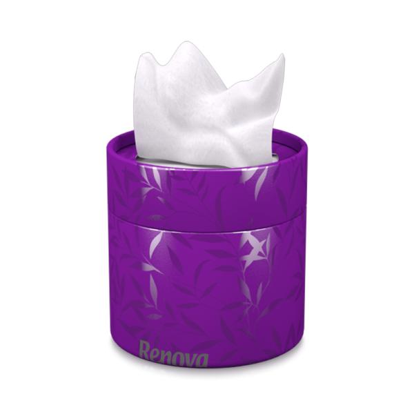white-facial-tissues-purple-box