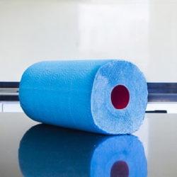 Цветные бумажные полотенца