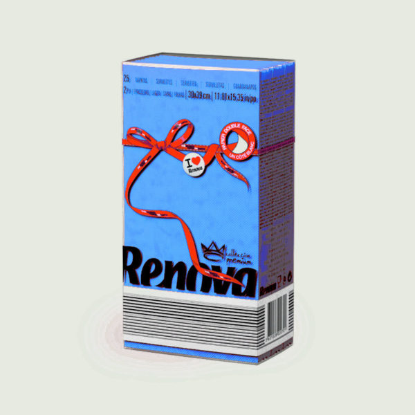 Renova-Red-Labej-paper-napkins-Blue