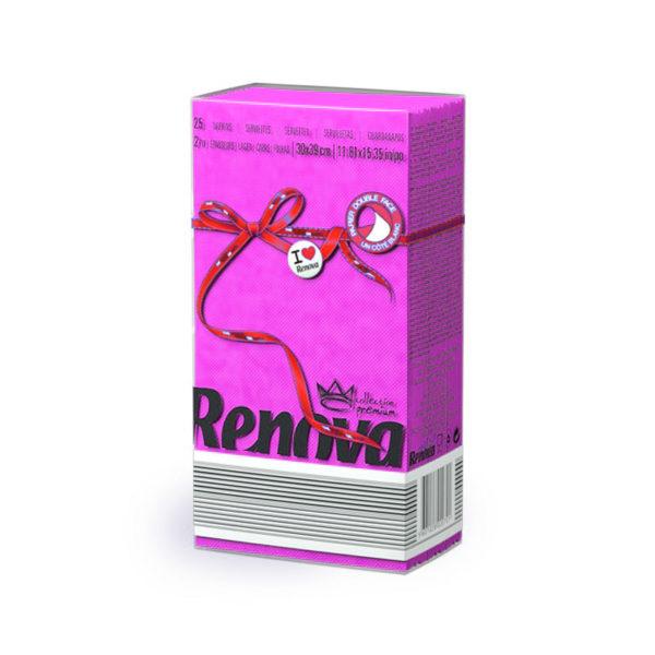 Renova-Red-Labej-paper-napkins-Fucsia