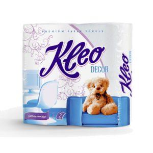 Полотенца бумажные Kleo Decor 2 рулона (С120)