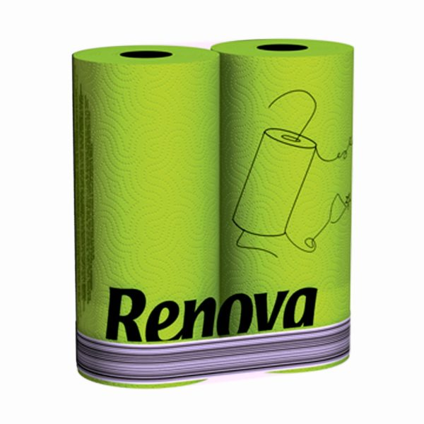green-paper-towels-2rolls