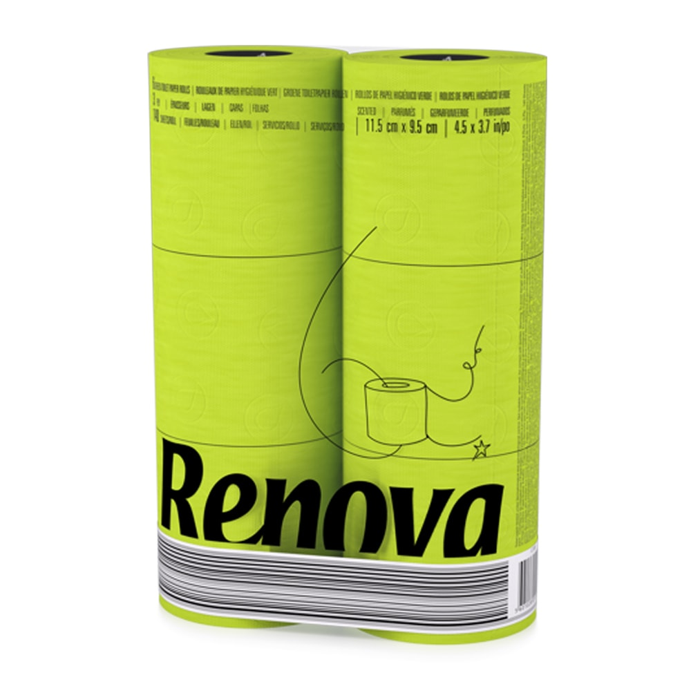 черная туалетная бумага Renova купить