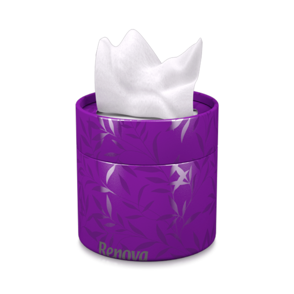 white-facial-tissues-purple-box