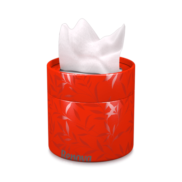 white-facial-tissues-red-box
