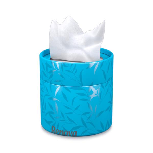 white-tissues-blue-box