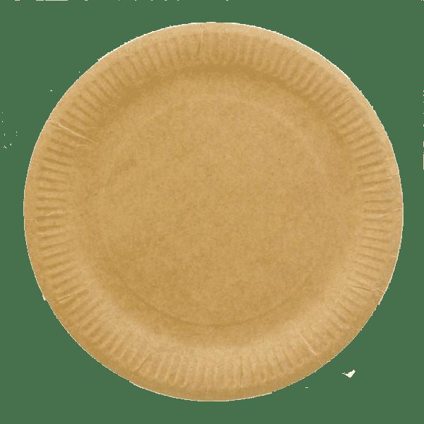 крафт тарелка 230мм