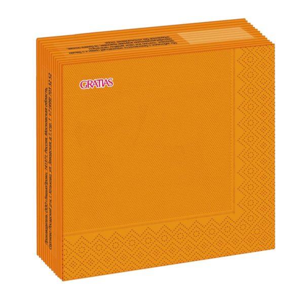 оранжевые салфетки