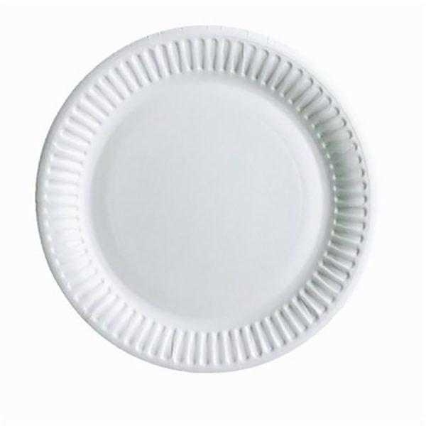 тарелка белая190мм